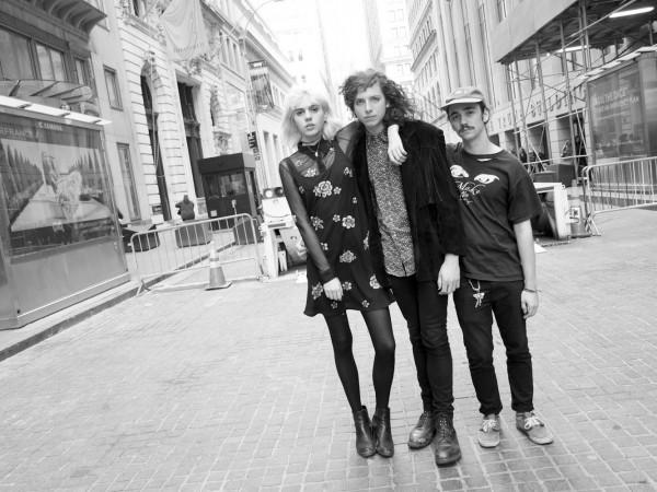 2014_04_21 Sunflower Bean band in Lower Manhattan.
