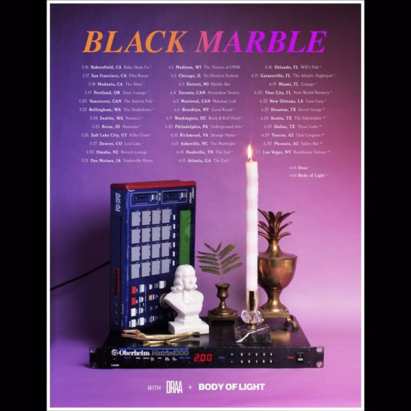 Denver Event Preview/Ticket Giveaway] Black Marble @ Lost