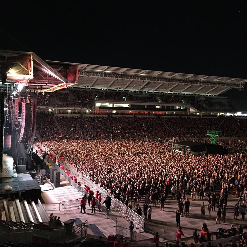 Crowd During Rammstein At Chicago Open Air 2016 Day 1 At Toyota Park In  Bridgeview,