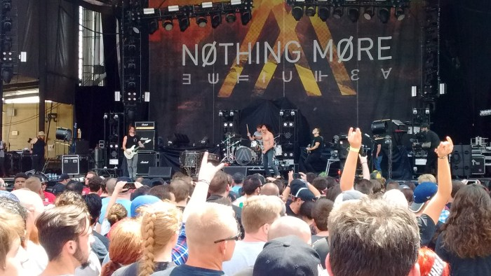 Nothing More performs live at Chicago Open Air 2016 Day 2 at Toyota Park in Bridgeview, IL