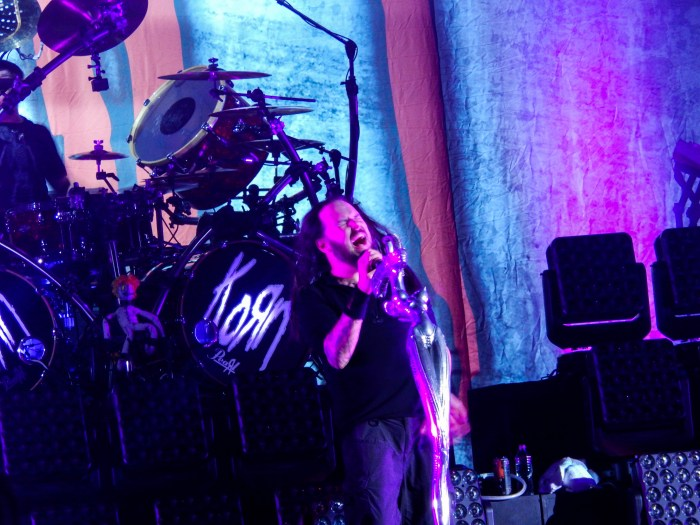 Korn performs live at Chicago Open Air 2016 Day 2 at Toyota Park in Bridgeview, IL.