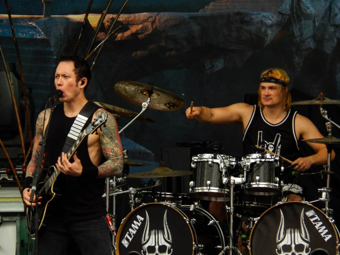 Trivium performs live at Chicago Open Air 2016 Day 1 at Toyota Park in Bridgeview, IL