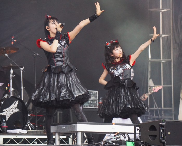 Babymetal performs live at Chicago Open Air 2016 Day 3 at Toyota Park in Bridgeview, IL.