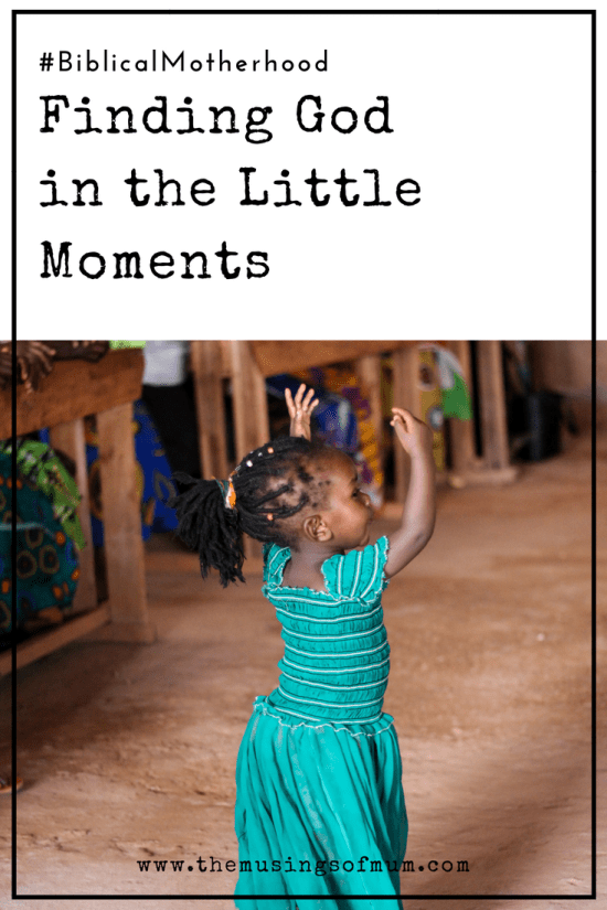 Finding God in the Little Moments - Whether it's a joyful or sorrowful circumstance you are going through, there are always opportunities to find God in the little moments.
