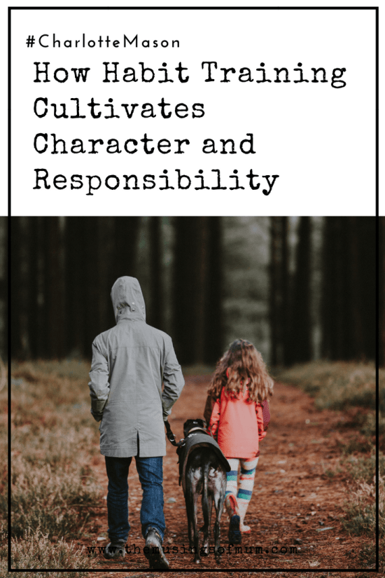 "How Habit Training Cultivates Character and Responsibility - When habit training is mentioned there often is a collective sign from moms saying, ""Yes, I need this for my children."" What is not as often understood is that whether you implement purposeful habit training or not you are most certainly habit training a child."