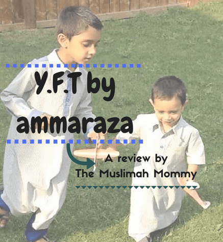 Review of Y.F.T by ammaraza thobes for boys