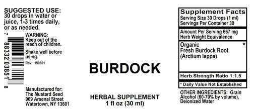 4003851 Burdock Liquid Extract
