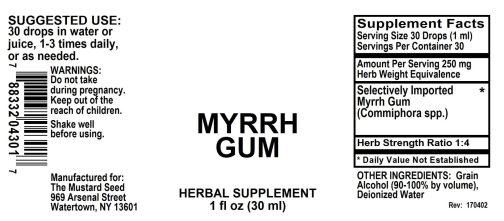 4004301 Myrrh Gum Liquid Extract