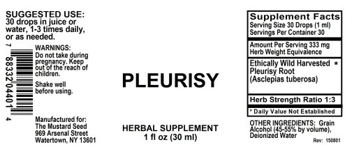 4004401 Pleurisy Liquid Extract