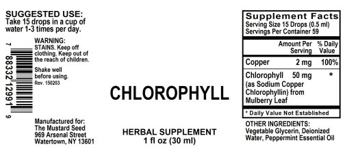 4012991 Chlorophyll Alcohol Free