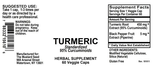 4015610 Turmeric Powder Capsules Standardized