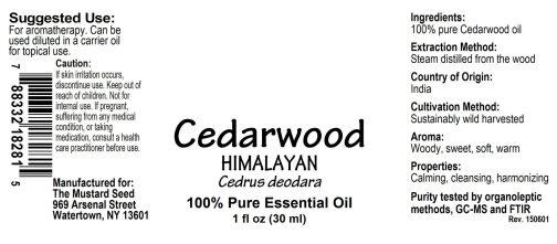 4018281 Cedarwood Himalayan Essential Oil
