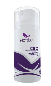 MedTerra Topical CBD Cream 750 mg