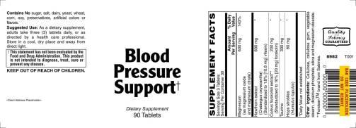 Blood Pressure Support 90ct 1
