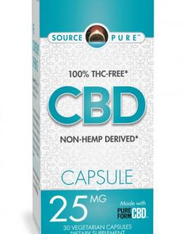 Source Naturals 25mg CBD Capsules