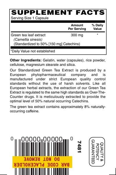 Green Tea 300mg 60ct 1 1