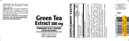 Green Tea 300mg 60ct 1