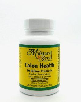 Colon Health 50 Billion Probiotic