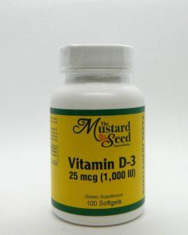 Vitamin D-3 1000 IU