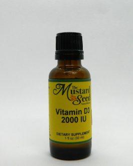 Liquid Vitamin D3 2000 IU