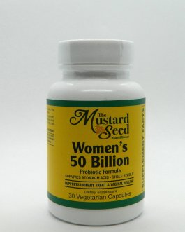 Women's 50 Billion Probiotic