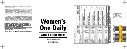 Womens One Daily Multi 60ct 1