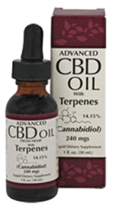 Smart Organics CBD Oil + Terpenes