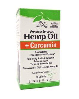Terry Naturally Hemp Oil with Curcumin