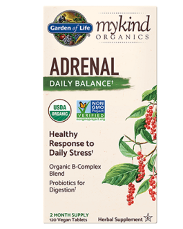 Garden of Life Mykind Adrenal Daily Balance