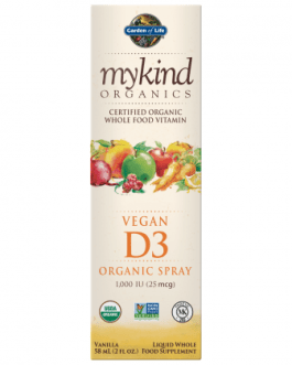 Garden of Life Mykind D3 Spray