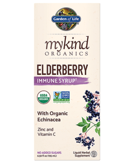 Garden of Life Mykind Elderberry Syrup