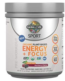Garden of Life Sport Energy & Focus (Sugar Free Blackberry Cherry)
