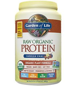 Garden of Life Raw Protein Powder (Vanilla Chai)