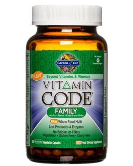 Garden of Life Vitamin Code Family Multivitamin