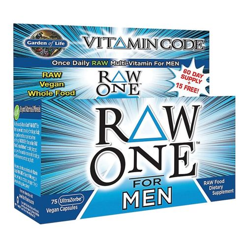 Vitamin Code Mens Raw One 75ct Front2