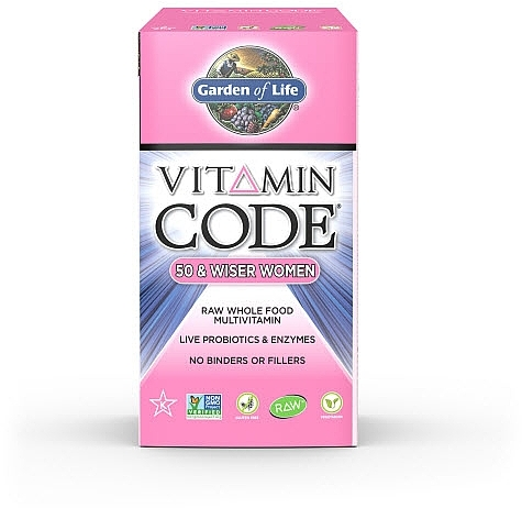 Vitamin Code Womens 50 Up 240ct Front