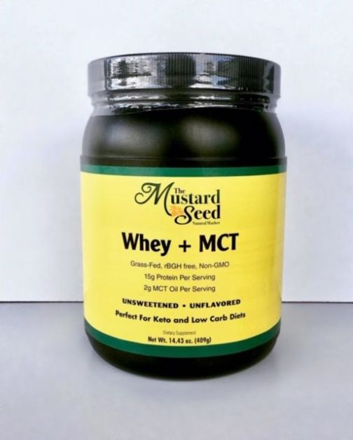 Whey and MCT Front