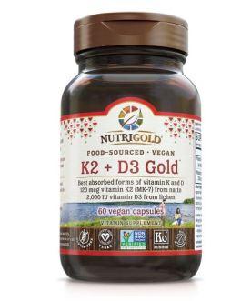 NutriGold K2 + D3
