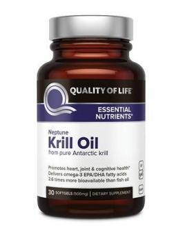 Quality of Life Krill Oil