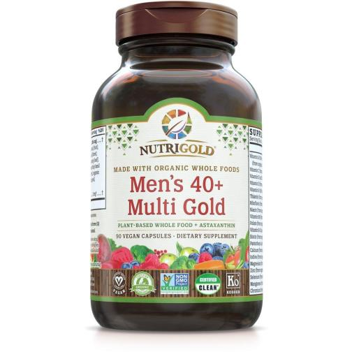 Mens 40 Multi Gold Front