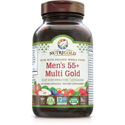 Mens 55 Multi Gold Front