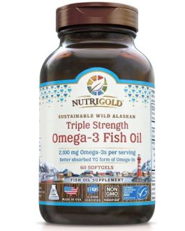NutriGold Triple Strength Omega-3 Fish Oil