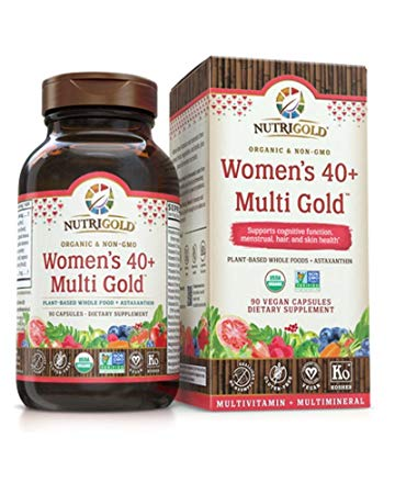 Womens 40 Multi Gold Front