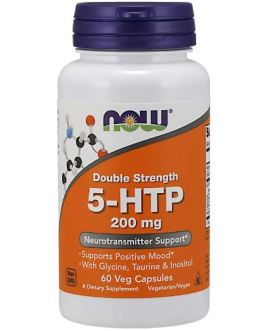 Now 5-HTP Double Strength 200 mg