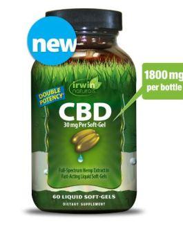 Irwin Naturals CBD Oil (30mg)