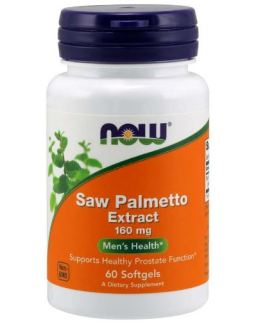 Now Saw Palmetto 160mg