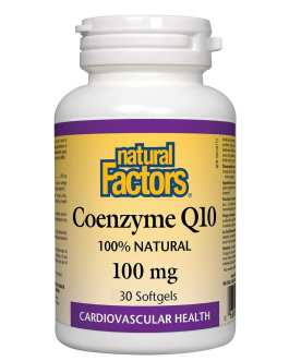 Natural Factors Coenzyme Q10 Twin Pack