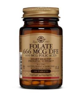 Solgar Folate 400mcg (Folic Acid)