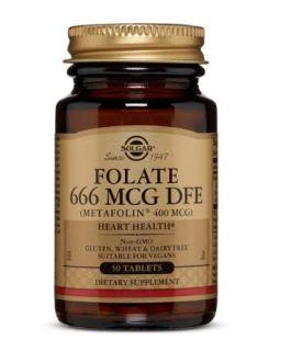 Solgar Folate 400mcg (Metafolin)