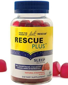 Bach Rescue Plus Sleep Gummies